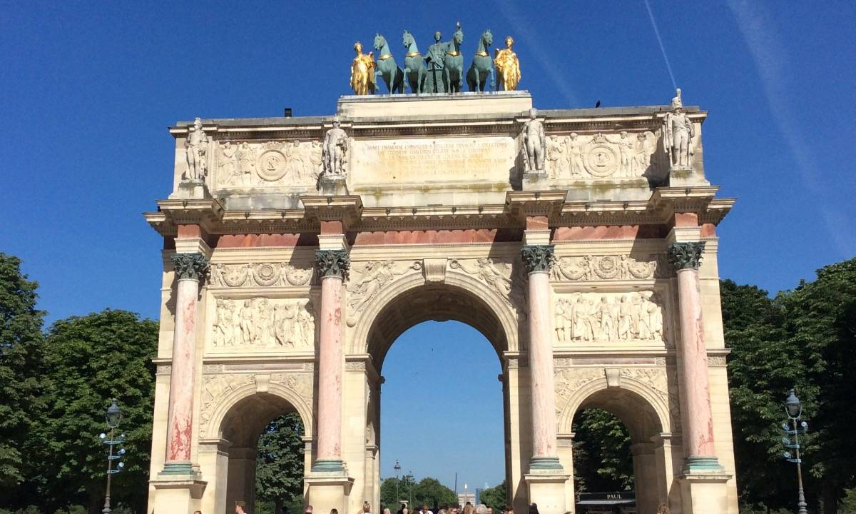 Carrousel Arc of Triomphe