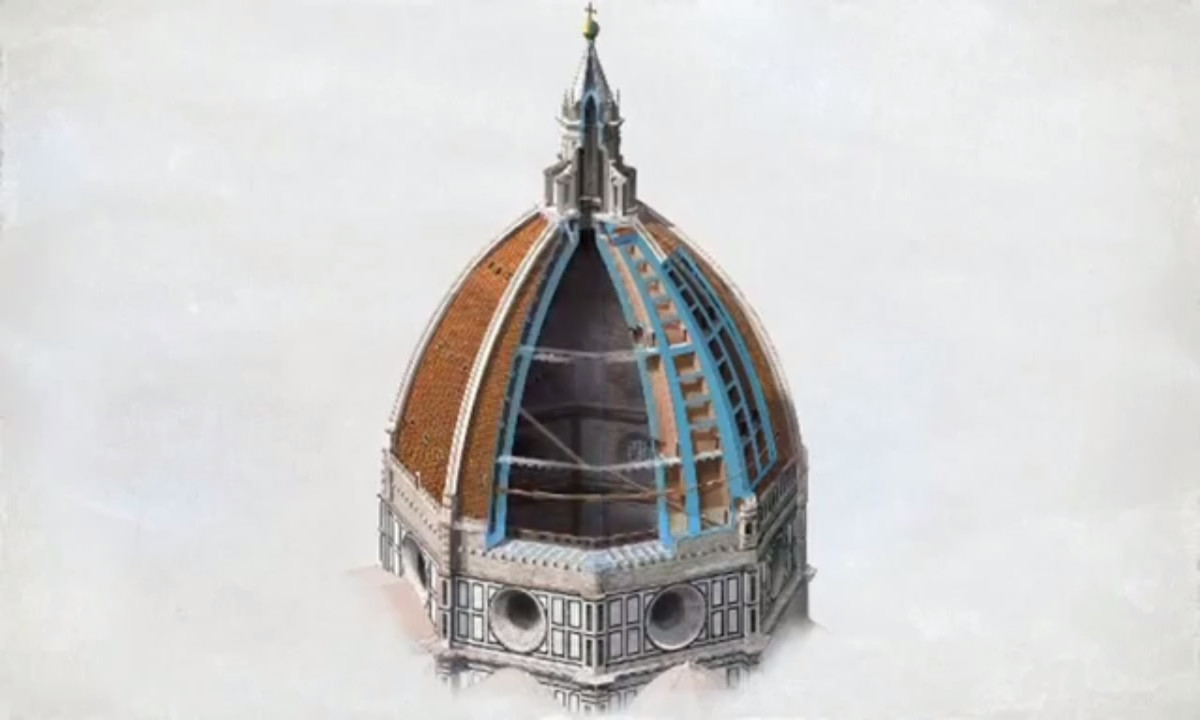 la cupola del brunelleschi su national geographic