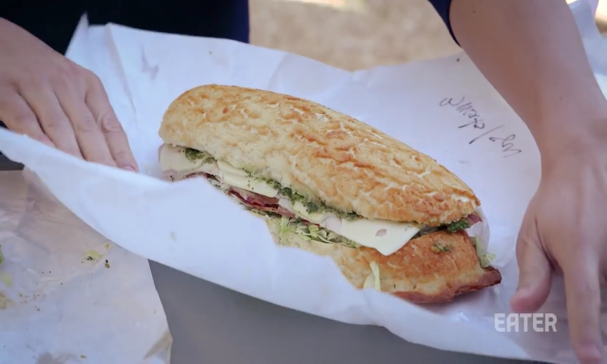 ITALIAN SANDWICHES AT LITTLE LUCCA