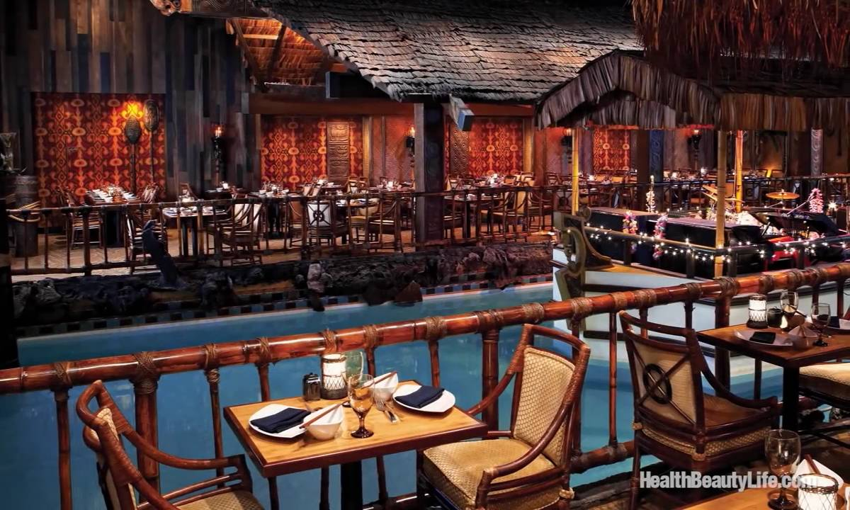 THE TONGA ROOM THE HURRICANE BAR