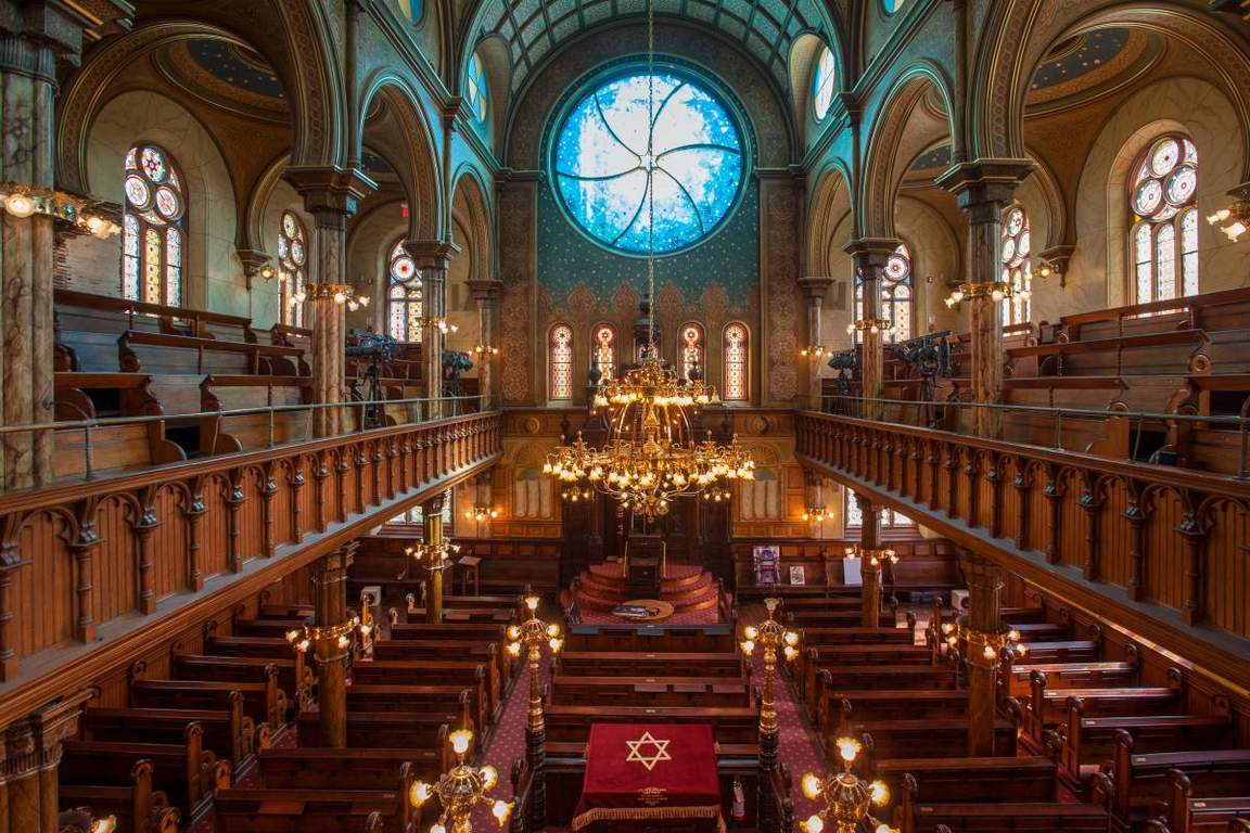 museum at eldridge street (restored synagogue)