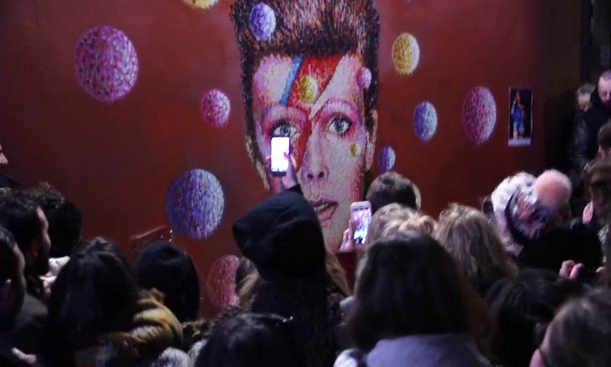 David Bowie Street Party
