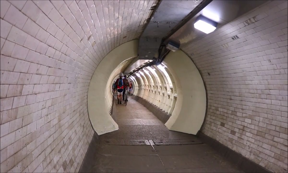 The Amazing Greenwich foot tunnel