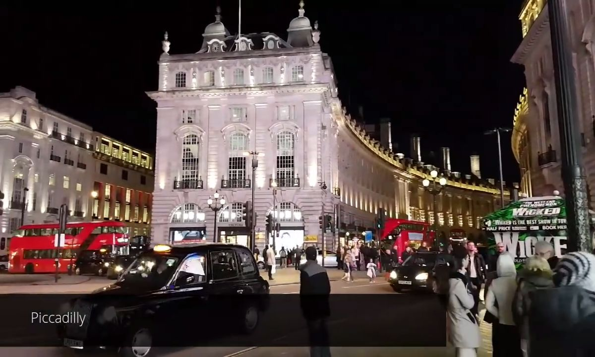piccadilly night tour