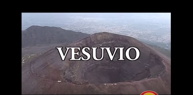 Viaggio all'interno del vesuvio