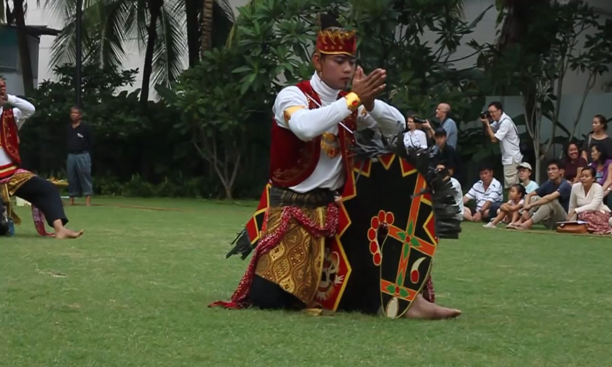 Kuda Kepang performance at Malay Heritage Centre