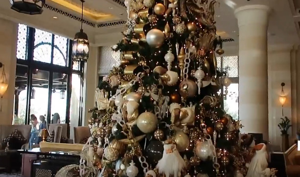 top christmas trees in dubai