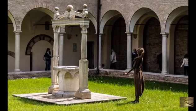 the dante museum is located inside the dante center a few steps from the tomb of dante alighieri