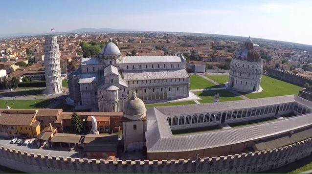 pisa flight drone